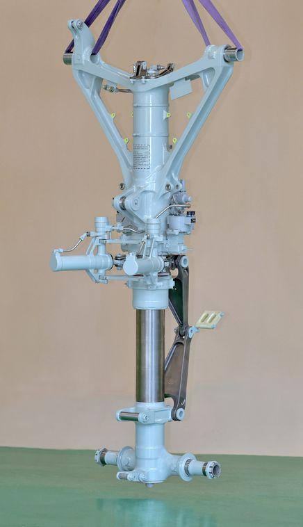 Передняя опора шасси МС-21