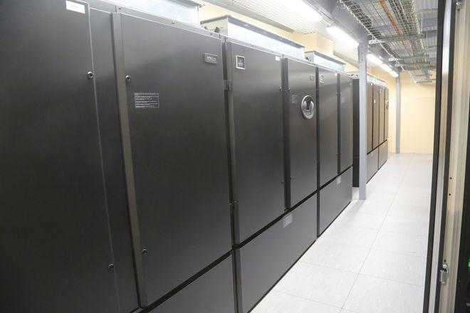 Центр обработки данных компании «Металлоинвест» в Старом Осколе
