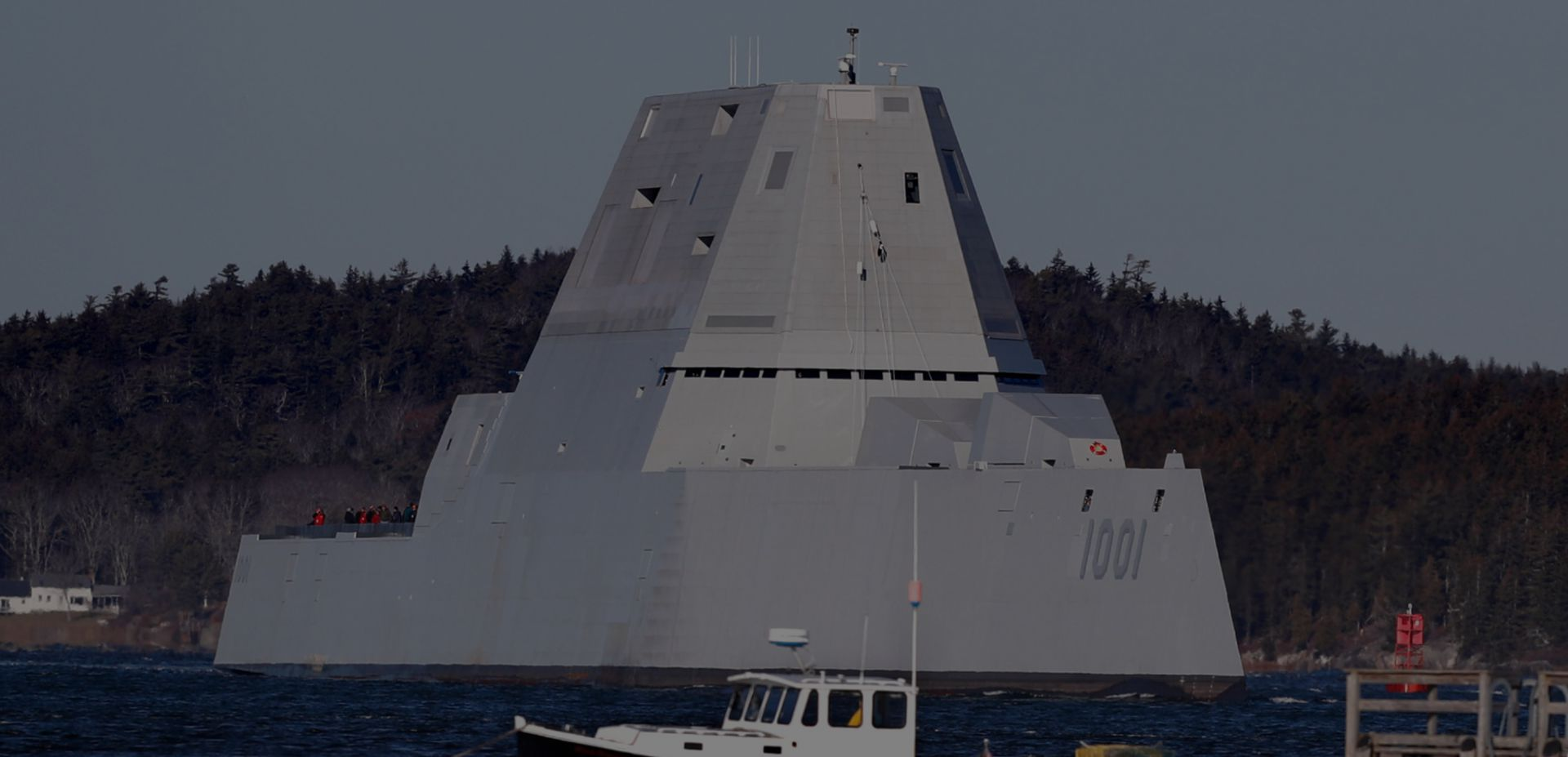 Эсминец USS Michael Monsoor типа Zumwalt